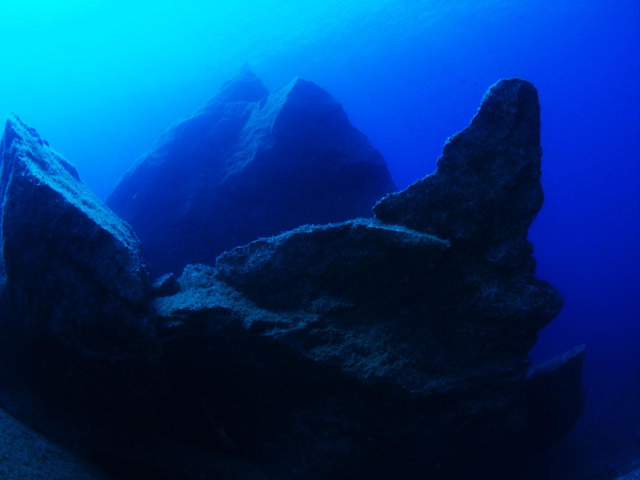 Azure Boulders
