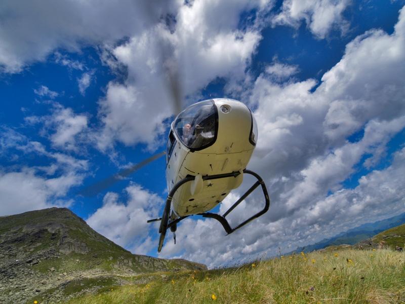 Hubschrauber am Weissensee