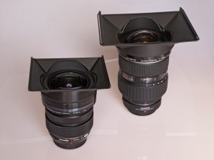 Filterhalter für Olympus 7–14mm Objektive