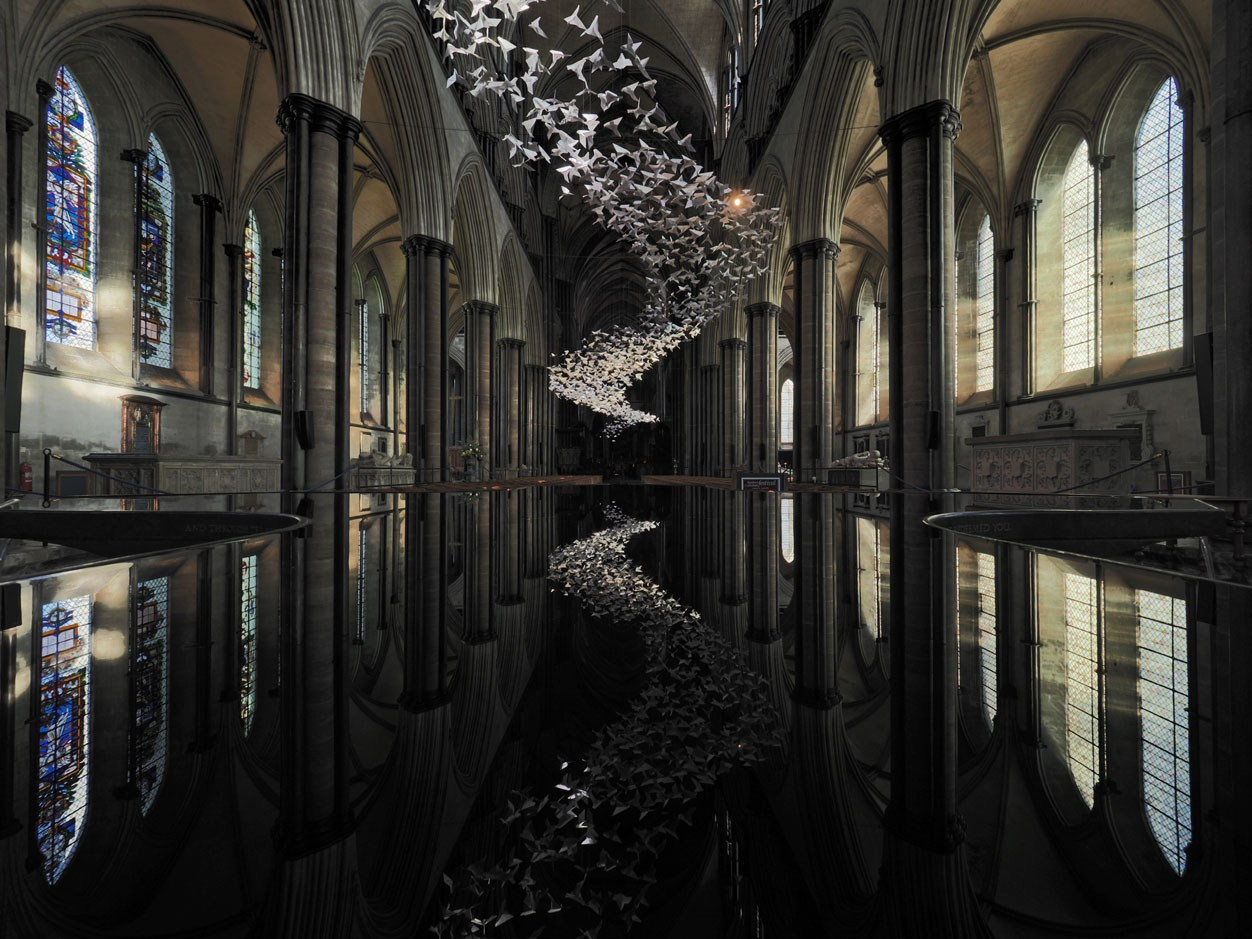 Salsbury Cathedral: Birds of Pray