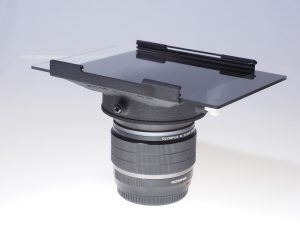 Filterholder for the Olympus ZUIKO µFT 8mm f1.8 fisheye