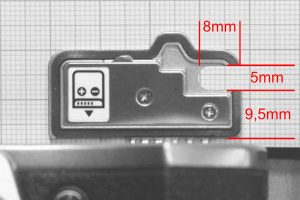 OM-D E-M5 II Akkufachdeckel